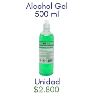 ALCOHOL GEL 500CC